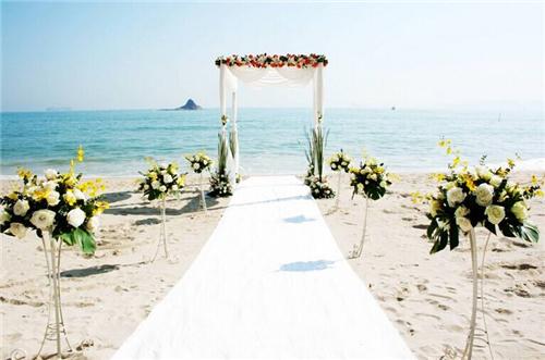 海滩婚礼策划筹备方案 海滩婚礼策划小细节盘
