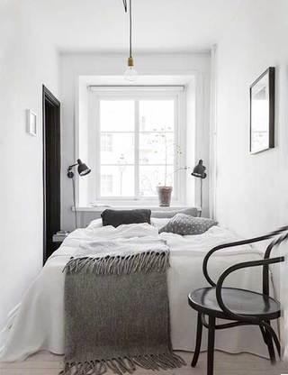 北欧风卧室设计布置图