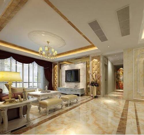 客厅铺瓷砖效果图 客厅铺什么瓷砖比较耐看美观图片