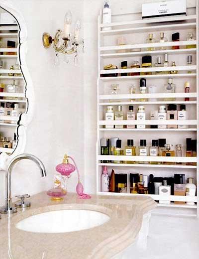 浴室收纳装修装饰效果图