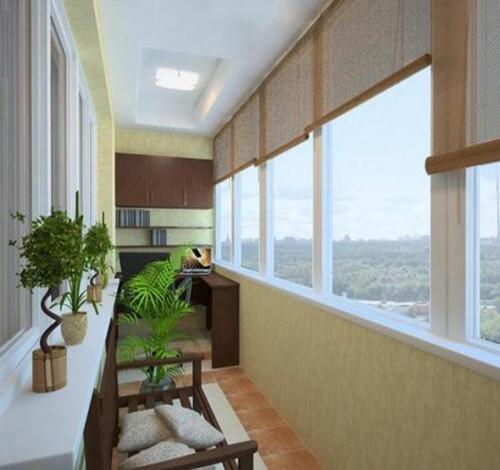 高层住宅阳台装修图 高层阳台怎样装修更旺财