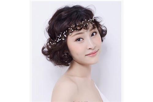 短发婚纱照发型图片 2017好看唯美的短发发型
