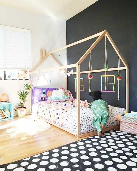 多彩儿童房设计装饰图