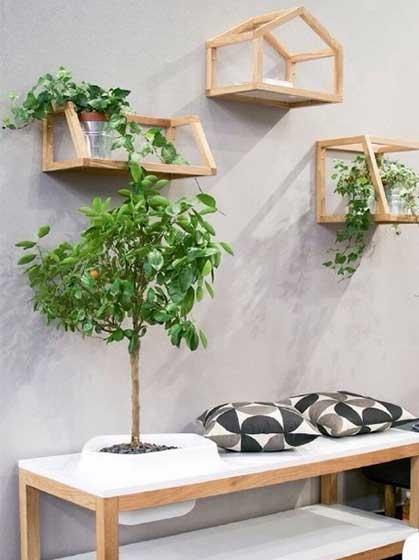 植物置物装饰架平面图