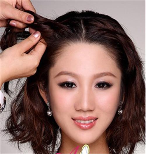 韩式新娘盘发步骤图解 2017韩式新娘发型解析