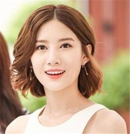 短发新娘妆造型图片分享 2017短发造型大推荐