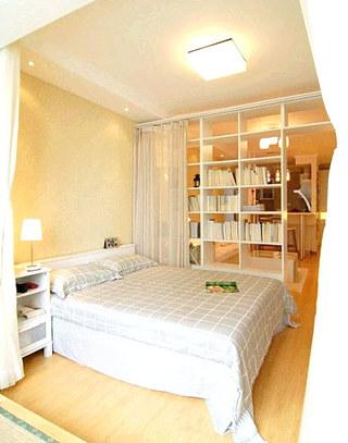 客厅卧室布帘隔断装饰装修