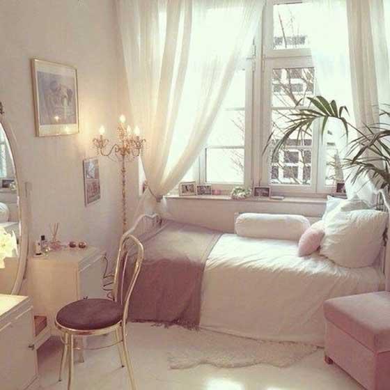 简约风单身卧室图片