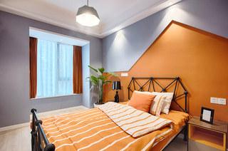 110平简约风格公寓装修儿童房效果图