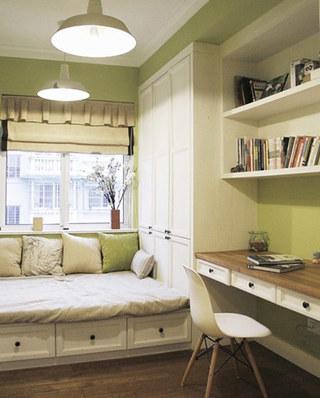 小户型客卧书房效果图