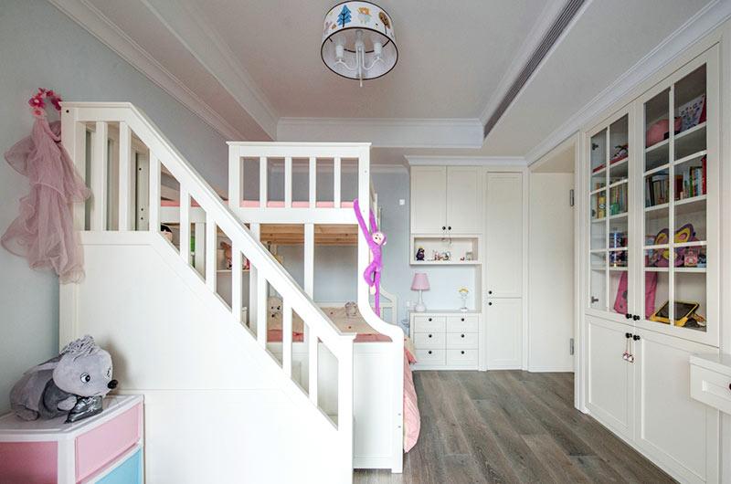 135平混搭风格公寓高低床装修