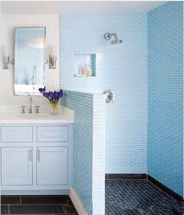小卫生间干湿分离装修效果图 5平米卫生间干湿分离设计
