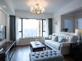 """89平美式风格两室两厅装修 """"家""""最原本的样子"""
