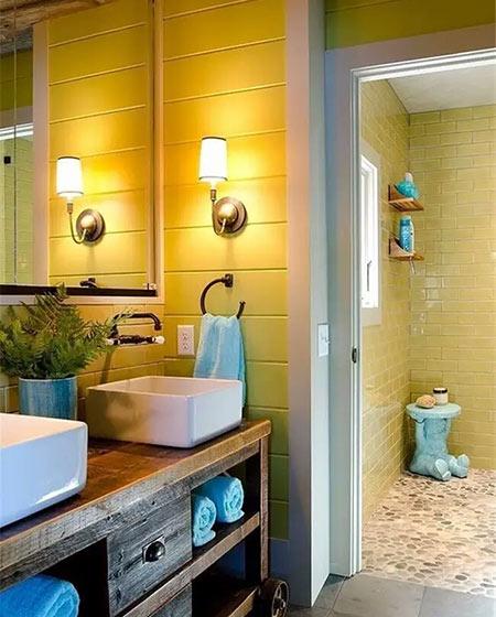 卫生间装修瓷砖设计图