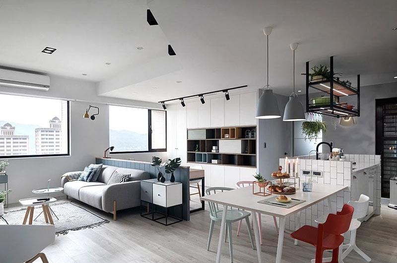 S Kitchen With Parquet Floor