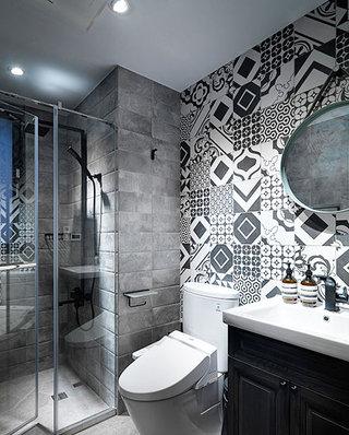 北欧风格婚房装修浴室瓷砖效果图