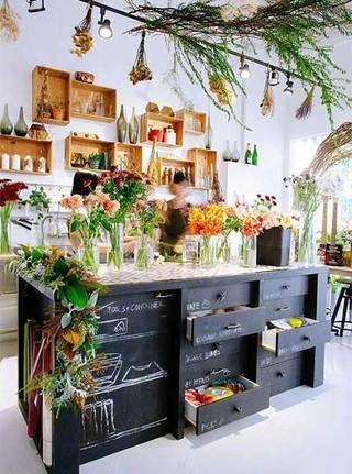 室内绿植布置设计图片