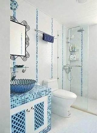 小户型浴室布置摆放图