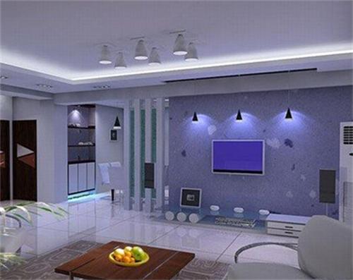 小客厅电视墙效果图 小客厅电视墙也精彩