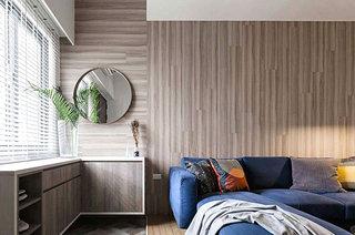 北欧风格复式楼客厅效果图