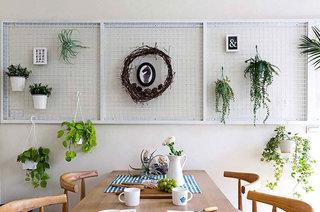北欧风格复式楼餐厅背景墙装饰