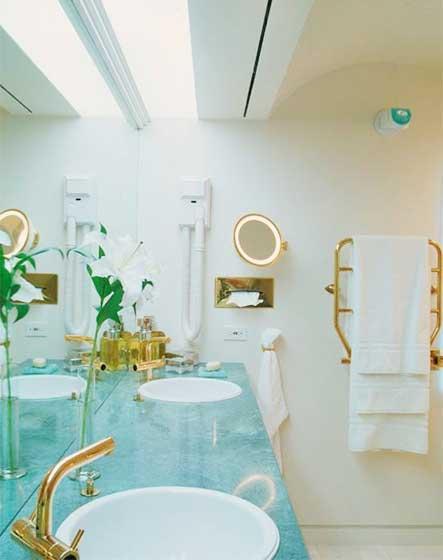 小清新洗手池装修装饰效果图