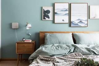 52㎡单身公寓床头柜平面图