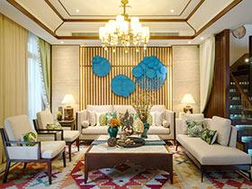 300平东南亚风格别墅装修图 情愫的沉淀