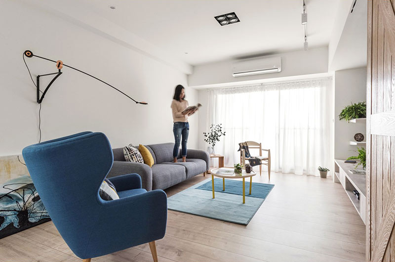 北欧风格公寓装修木地板装修