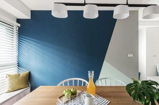 北欧风格公寓装修餐厅背景墙设计