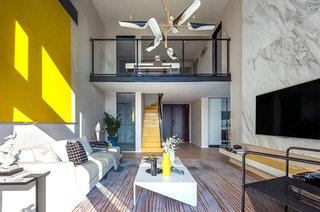 简约风格样板房客厅装修设计