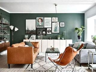 混搭风格客厅沙发效果图