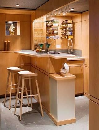 餐厅吧台设计参考图片