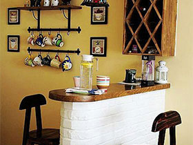 添气氛神家具  10款餐厅吧台实景图
