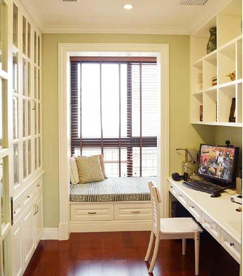 书房榻榻米设计装饰图片