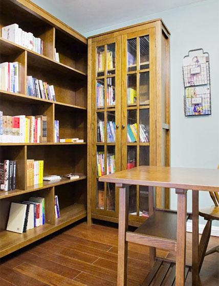 150㎡三居室书房布置图
