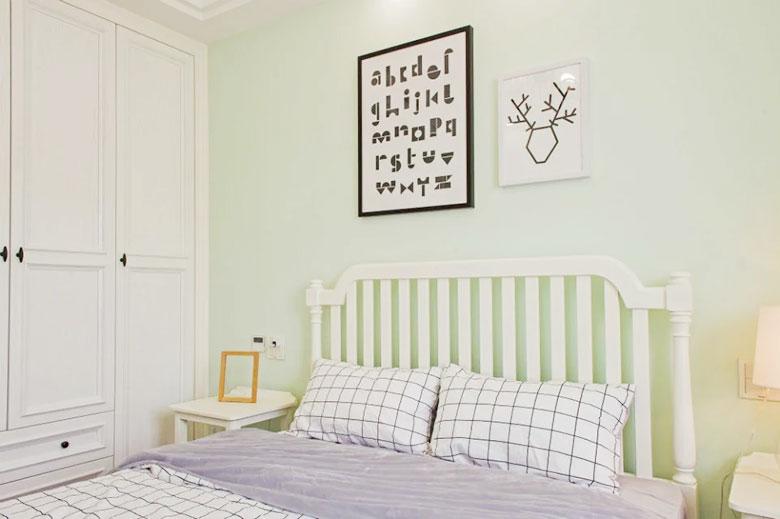 美式三居室次卧室图