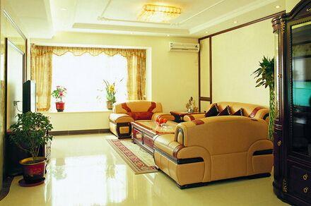 现代简约客厅吊灯图片 创意搭配点亮你的家居生活