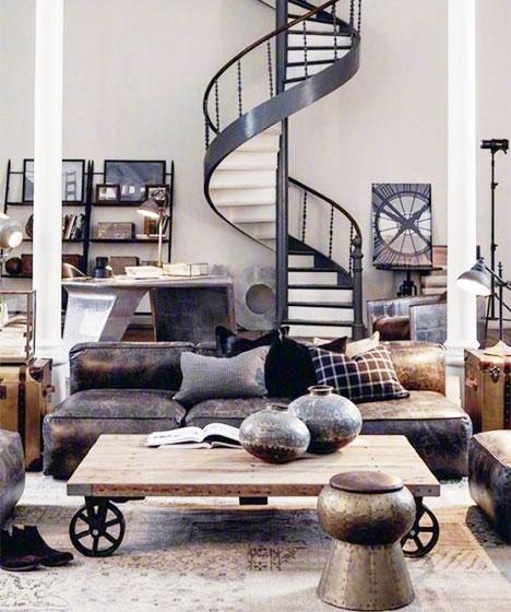 现代风loft公寓装饰图片大全