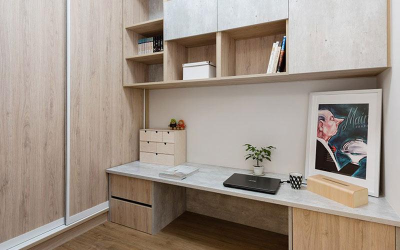 60平小户型装修书房效果图设计