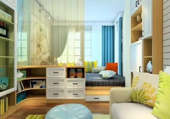榻榻米床装修效果图卧室照片 温馨的惬意生活有你来打造