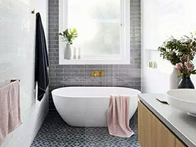 10个卫生间装修浴缸效果图 解乏放松全靠它