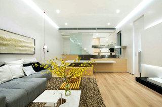 350平别墅装修客厅效果图