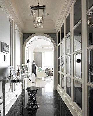 210平新古典风格装修玄关装修装潢
