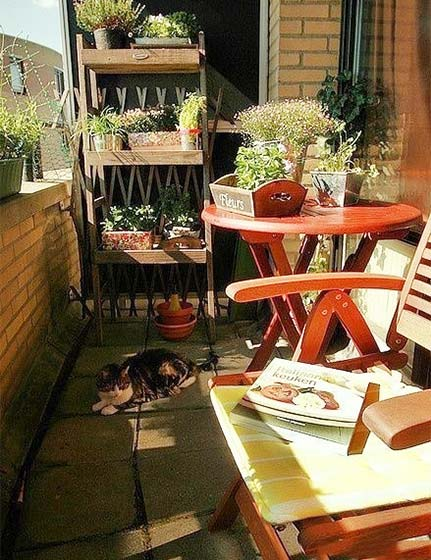 阳台花园设计装修图片