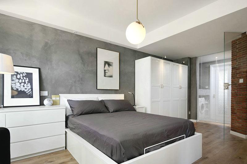 简约风格小户型装修主卧室设计
