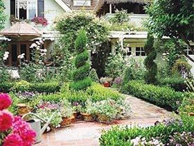 梦境之旅  10款别墅花园装修图