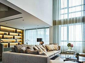现代简约风格复式楼装修 不经意的舒朗和精致