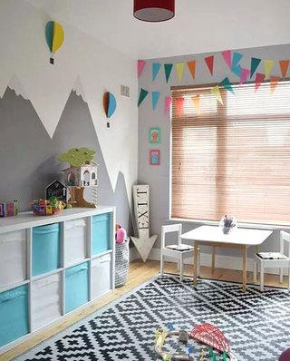 儿童房收纳装饰效果图