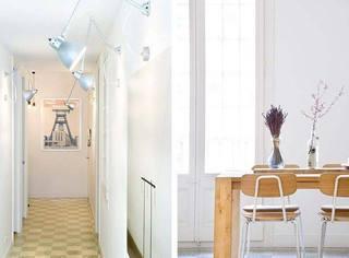 75㎡一居室走廊效果图